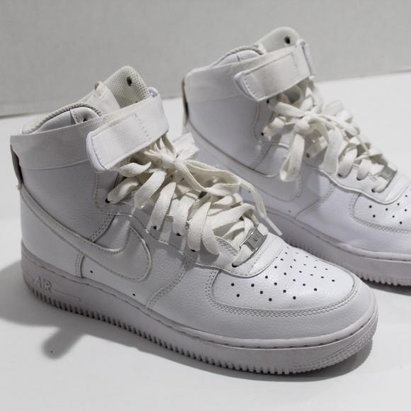 Nike Air Force 1 High-Top '07 - 315121-115 White 8